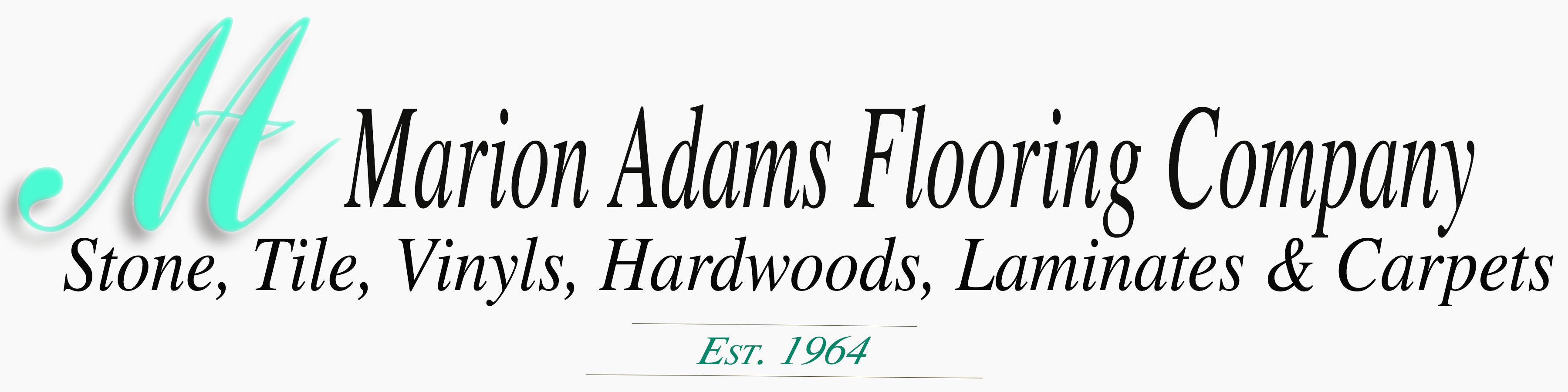 Marion Adams Flooring | Mooresville, Indiana | Logo